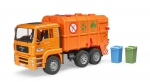 MAN TGA Müll-LKW Hecklader orange