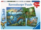 RV Puzzle Dinosaurier 3X49