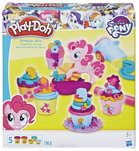 Play-Doh Pinkie Pie Cupcace Party