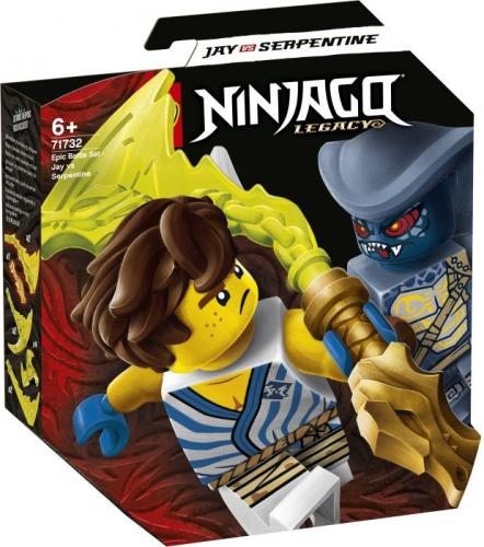 LEGO® NINJAGO 71732 Battle Set: Jay vs. Serpentine