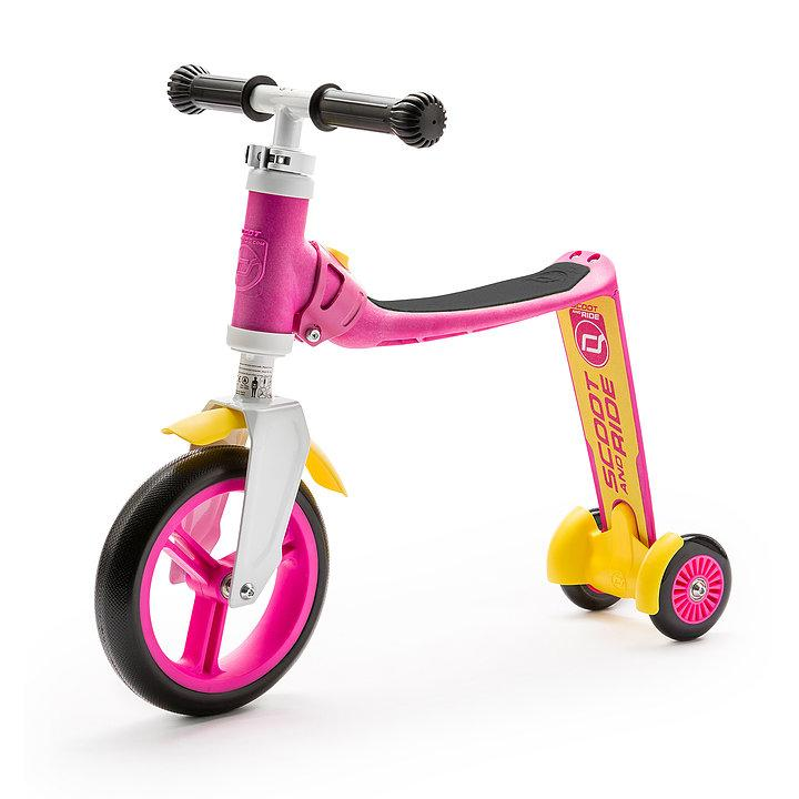 Scoot & Ride Highwaybaby + pink/yellow
